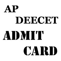 AP DEECET Hall Ticket