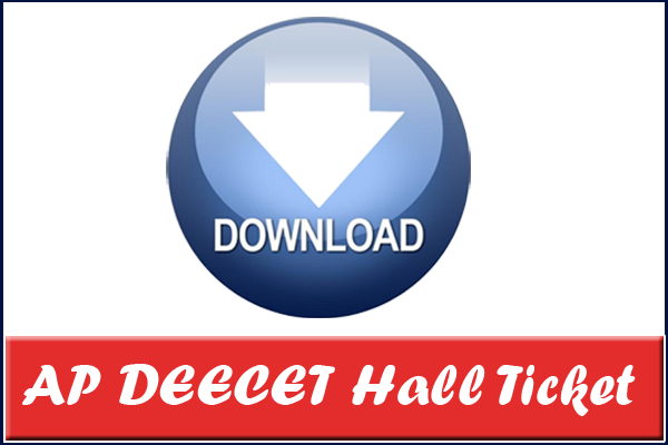 AP DEECET Hall Ticket Download