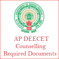 ap DEECEt counselling required documents